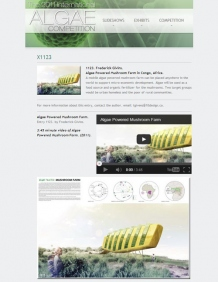 The 2011 International Algae Competition: Algae Powered Mushroom Farm