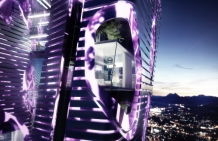 Indigo Tower: Bio-Purification Tower