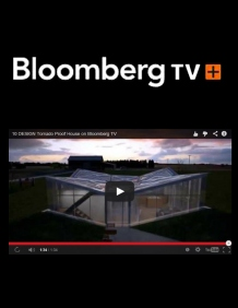 Tornado Proof House presented on Bloomberg TV